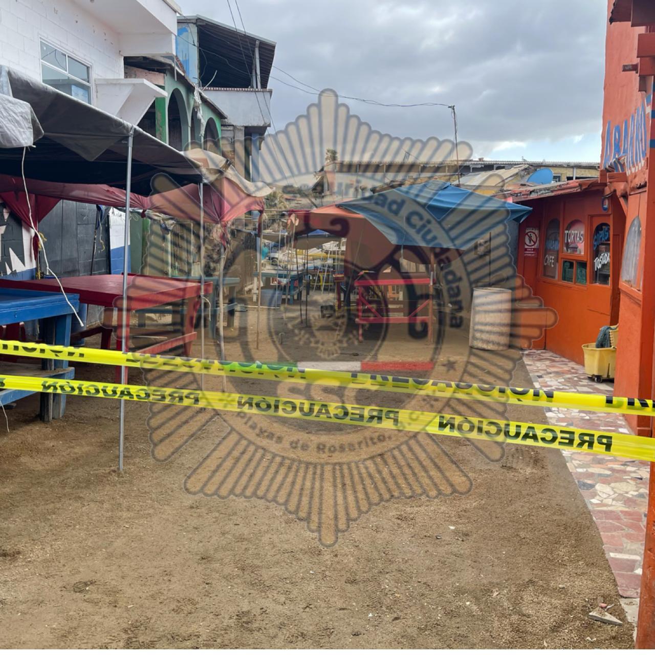 Localizan cuerpo calcinado en zona restaurantera de Popotla