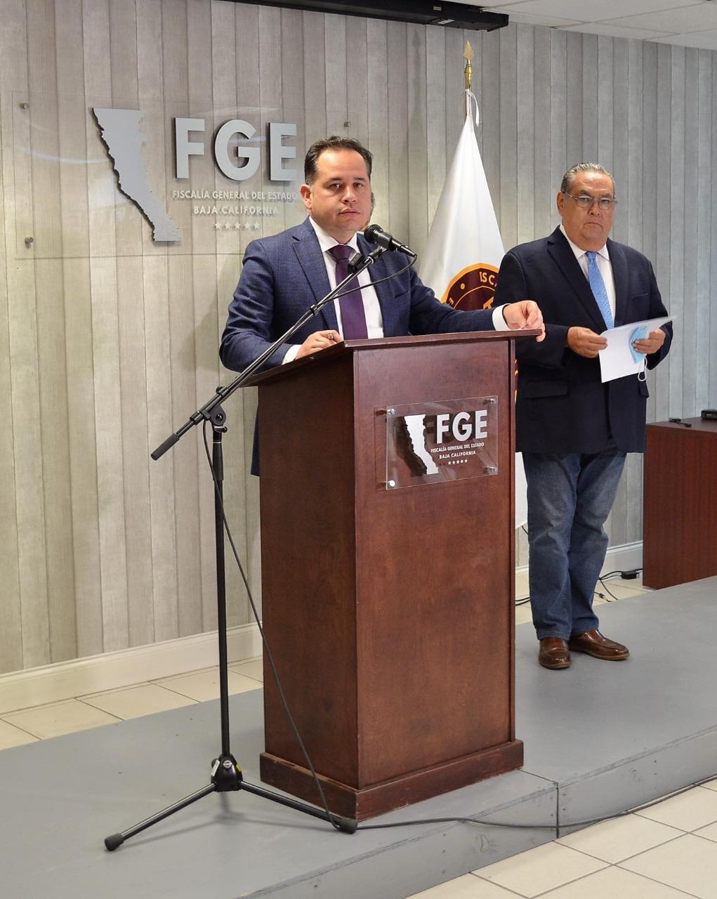 FGE investiga homicidios y otros delitos en BC