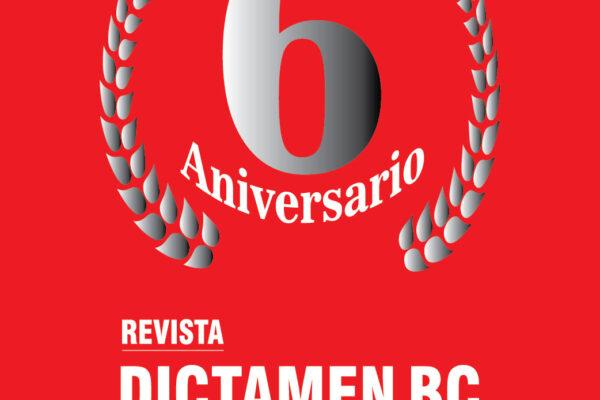 Revista Dictamen BC cumple 6 años
