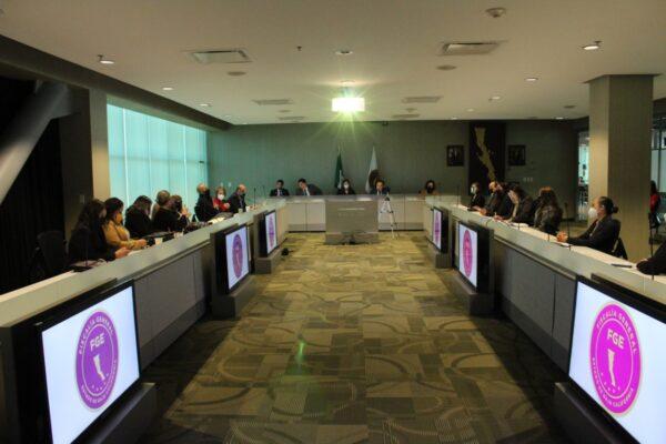 Realizan Tercera Mesa de Trabajo para la Atención a casos de Violencia Feminicida en BC