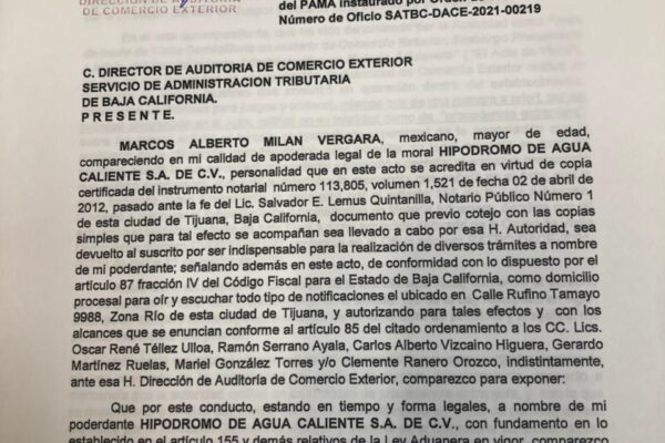 "SIGUEN AGRESIONES DE JAIME BONILLA CONTRA GRUPO ""CALIENTE"""