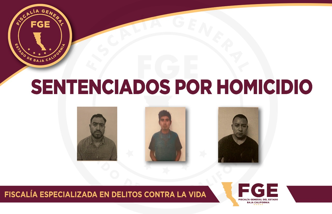 Sentencian a 20 años de prisión a tres sujetos que asesinaron y quemaron a su víctima