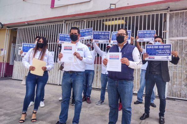 Inicia en BC la defensa de la democracia y el INE, dice Misión Rescate México