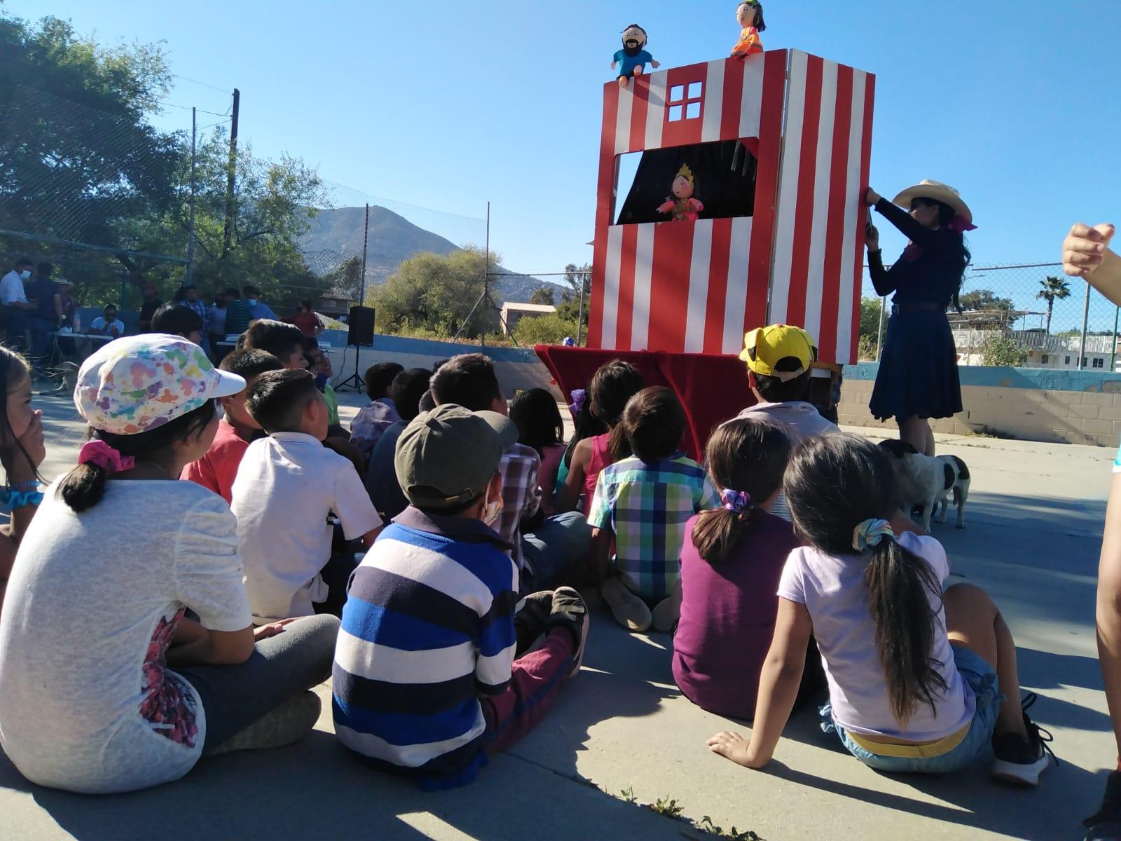 Antorcha celebra el Día del niño con actividades