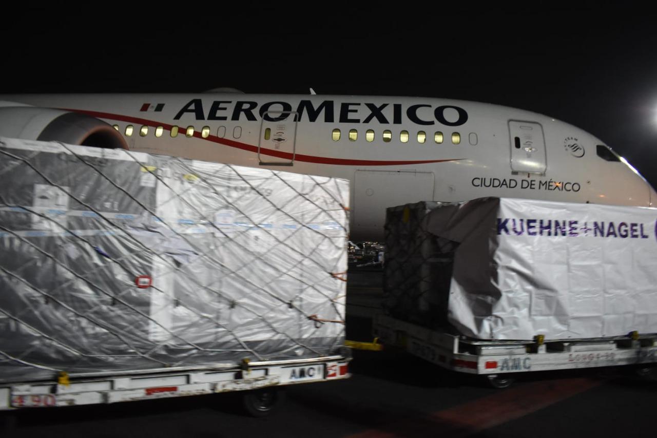Ya Están en México las  Vacunas AstraZeneca para El Valle de Mexicali, San Felipe y el Sur Profundo de Ensenada