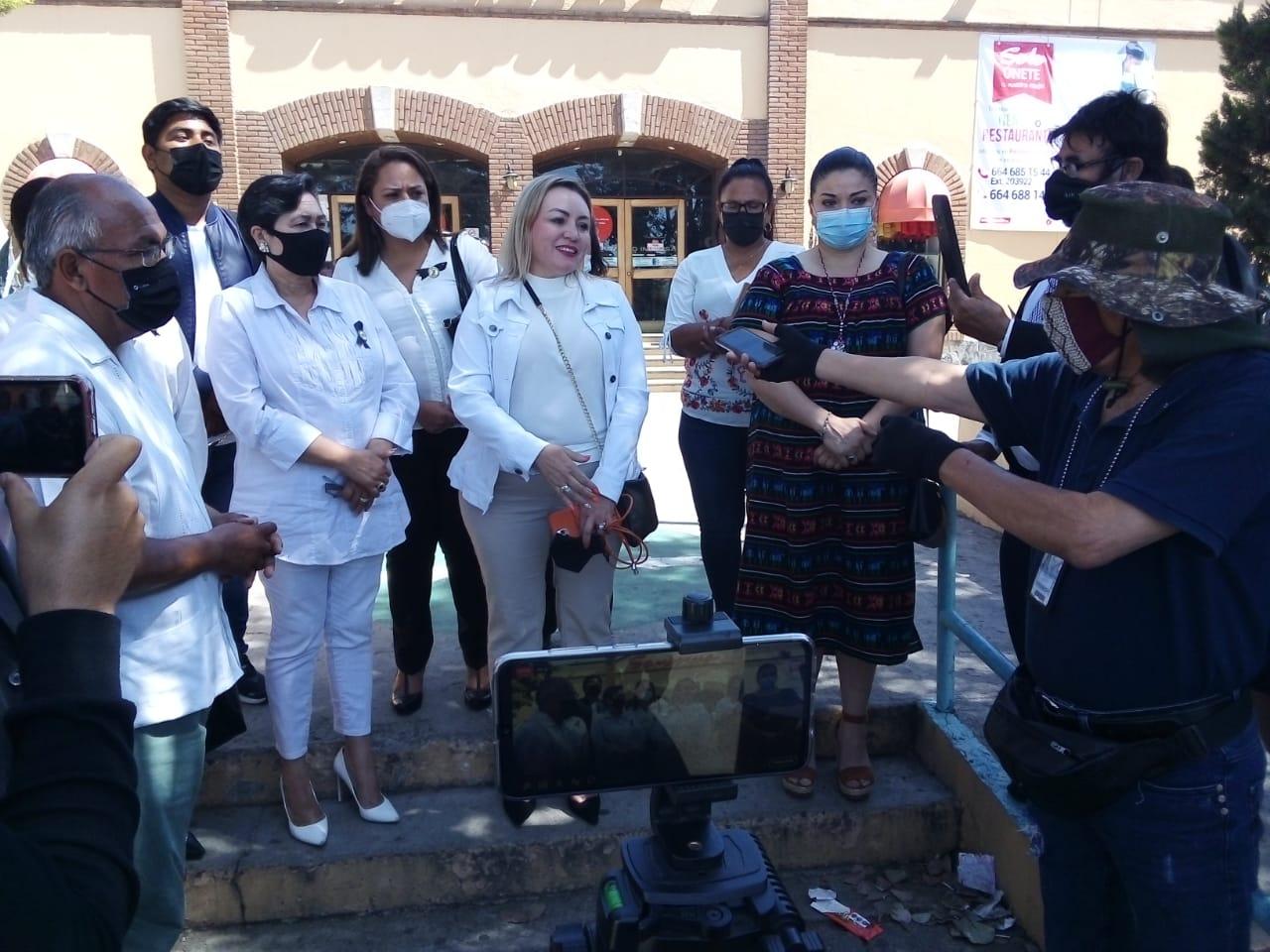 En Tecate no existen condiciones de seguridad para las campañas: Carmen Romero