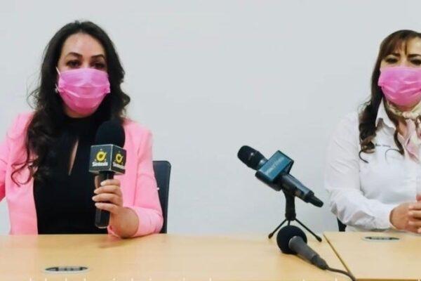 Presentan propuestas Alejandra Gómez y Adriana Báez, candidatas a diputadas federales por Fuerza México