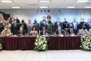 Acuerdan FGE de BC y autoridades de Sonora, estrategias para combatir la inseguridad