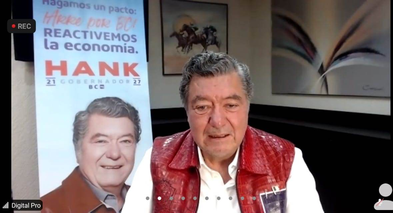 Si Hank gana volverá la Secretaría de Turismo