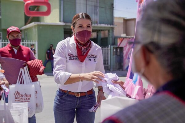 """Habrá """"Ojo a la delincuencia"""" en Baja California: Marina del Pilar"""