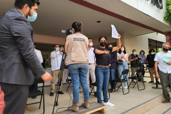 Tijuana quiere seguir gobernada por MORENA, con el registro de Montserrat Caballero, hay garantía