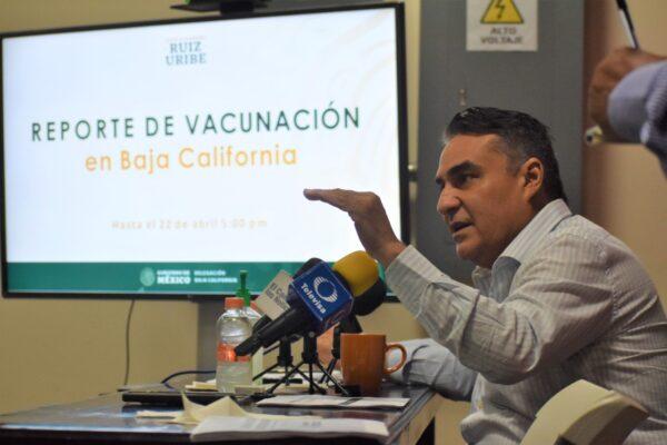 Próxima Semana Inicia Vacunación en el Valle de Mexicali, San Felipe y San Quintín