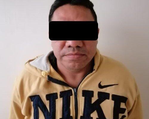 Detienen a Victoribe acusado de un secuestro agravado en Chiapas