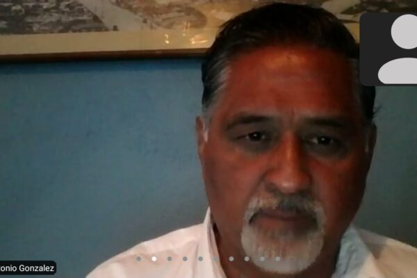 Voy ser un intenso promotor de la estabilidad social: Marco González Arenas