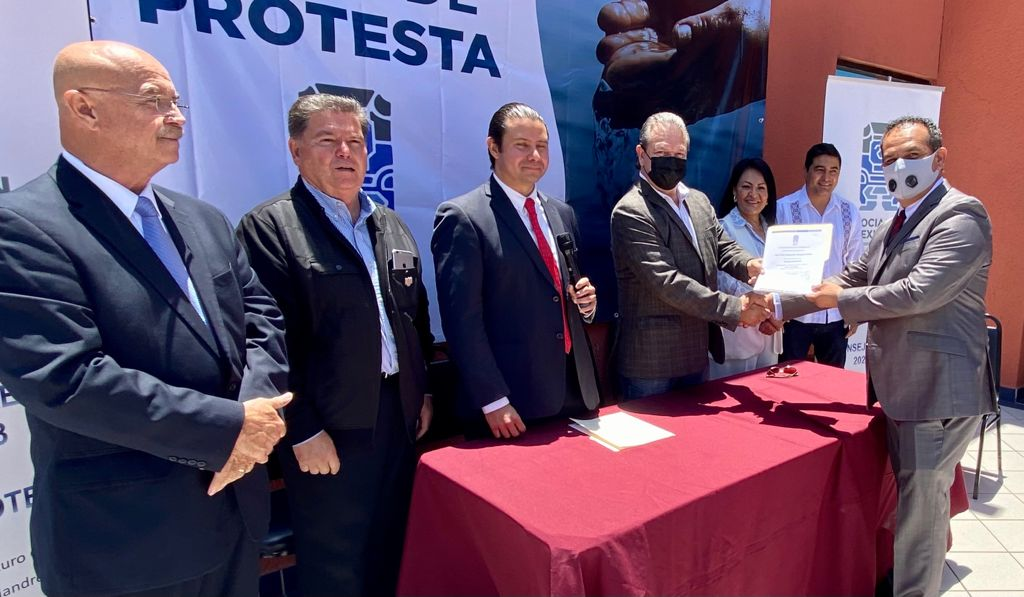 Eliel Vargas Pulido toma protesta como Vicepresidente de la Asociación Mexicana de Hidráulica – BC