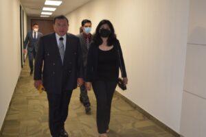 Recibe Fiscal General del Estado a nueva Fiscal de Delitos Electorales