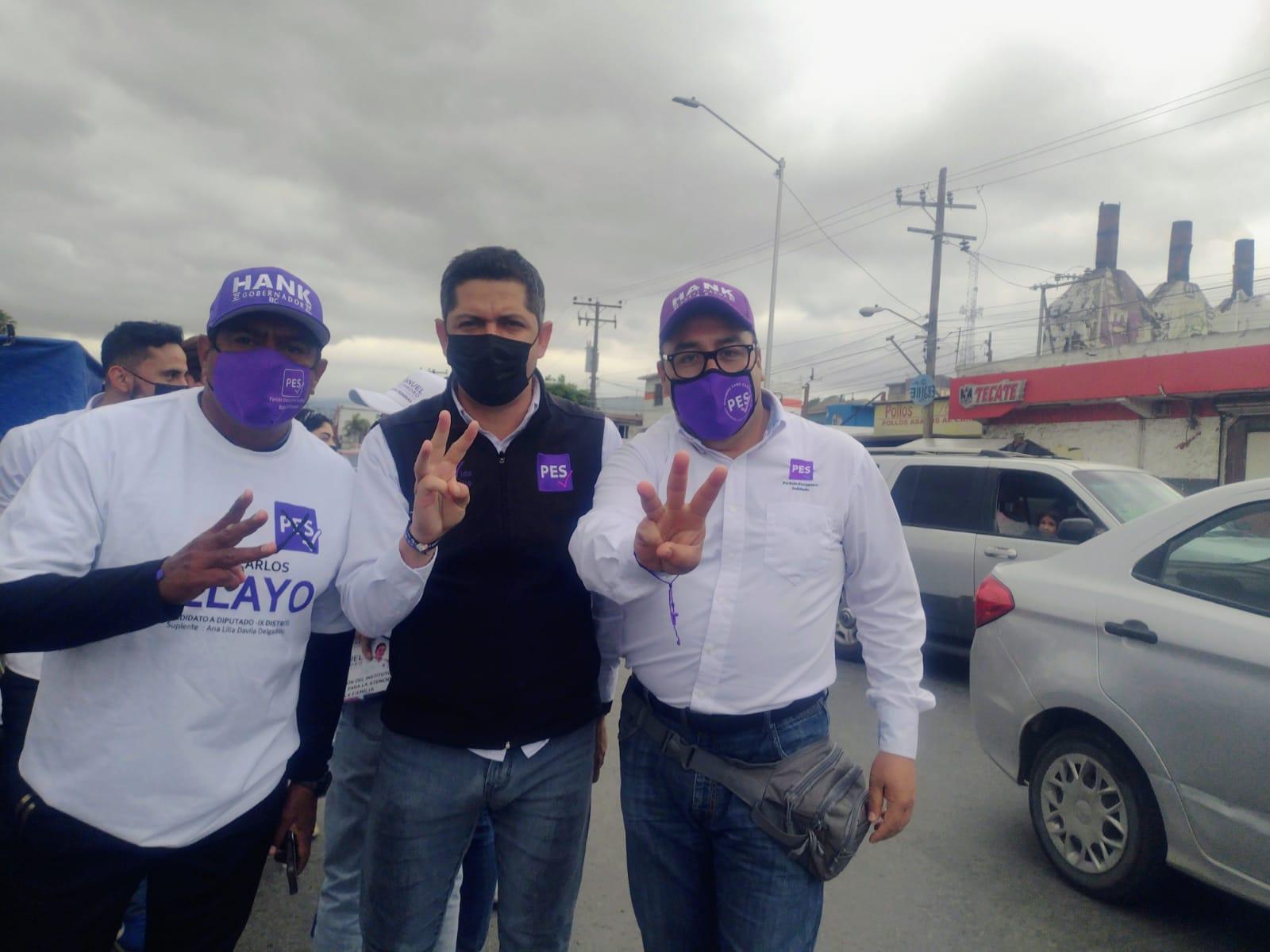 Puertas abiertas, ofrece el candidato del PES a diputado federal, Manuel Flores Pérez