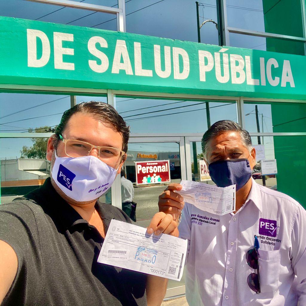 Presenta Marco González Arenas prueba de antidoping