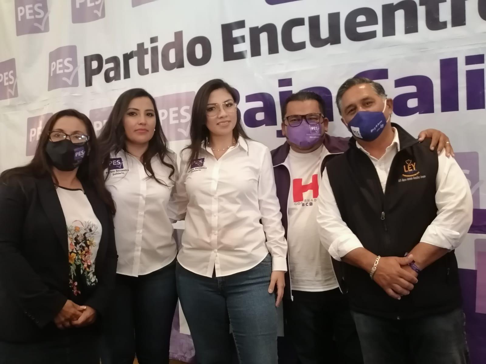 Respalda Marco González Arenas candidatura de Indira Leyzaola