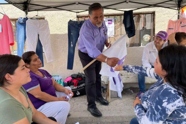 Gestionará Marco González Arenas programas de salud para Jefas de Familia