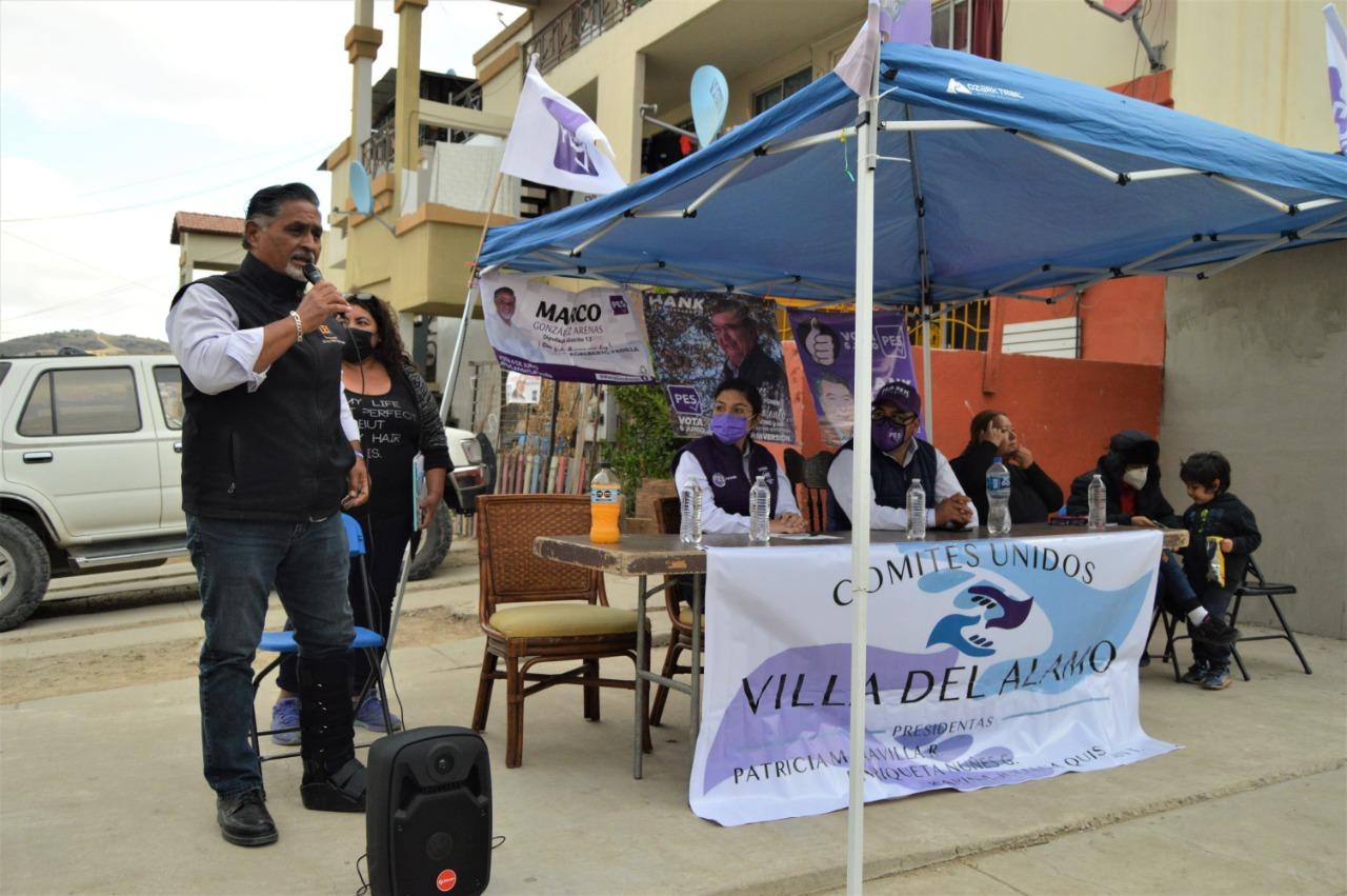 De la mano con Julián Leyzaola recuperaremos la paz: Marco González Arenas