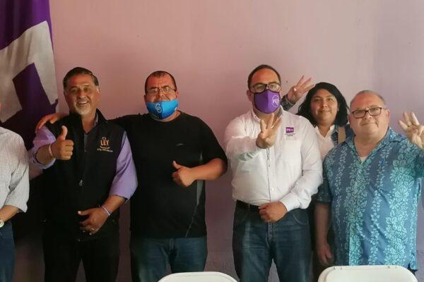 Convoca Ricardo Cano a ciudadanos rescatar la democracia este 6 de junio, para que no se derrumbe