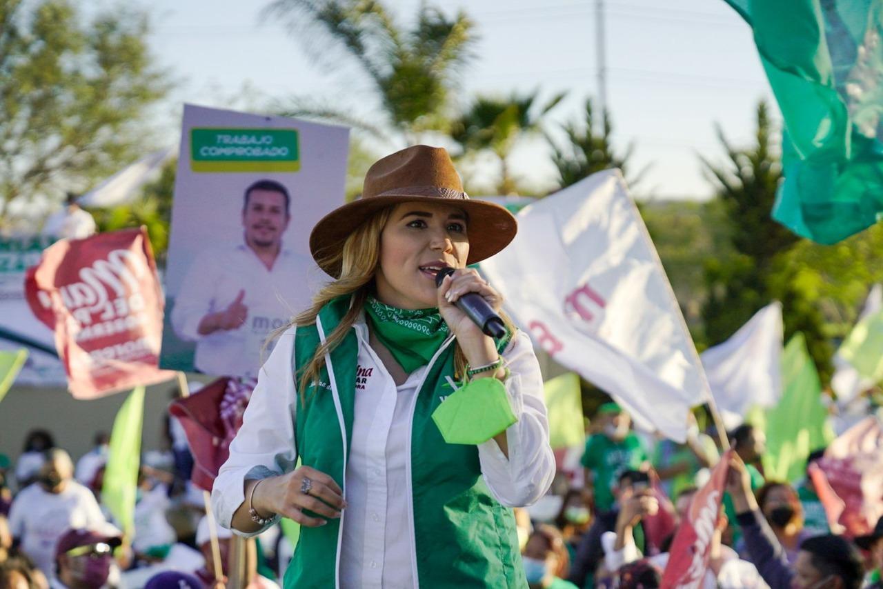 Tendremos un gobierno ambientalista en BC: Marina del Pilar