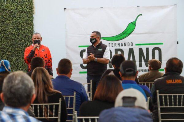 Fernando Serrano busca impulsar el apoyo a deportistas de Rosarito