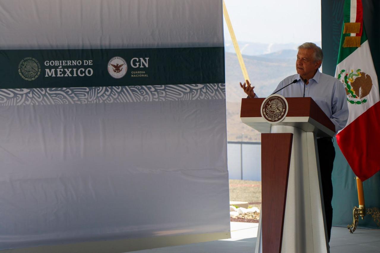 Inaugura AMLO instalaciones de la Guardia Nacional en Playas de Rosarito