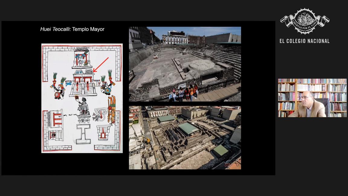 En conferencia desmontan el Templo Mayor de México-Tenochtitlan