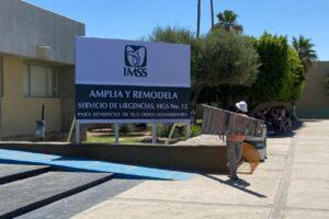 Reinician trabajos de ampliación del Hospital General del IMSS en SLRC