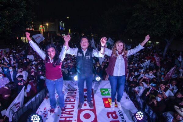 Marina del Pilar concluye la mejor campaña de todo México: Mario Delgado