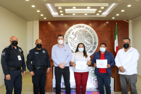 Capacitan a comunidad de San Quintín en Cultura de la Legalidad, denuncia y prevención de accidentes viales