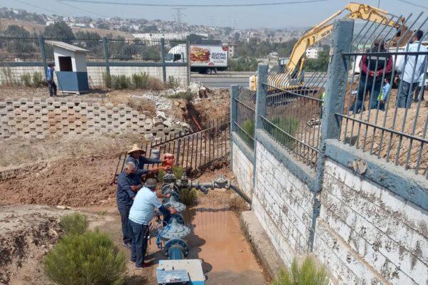Corte de agua masivo en Tijuana y Rosarito por una fuga en el acueducto principal