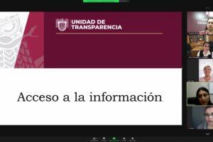 Se reúne Barra de Abogadas con Unidad de Transparencia