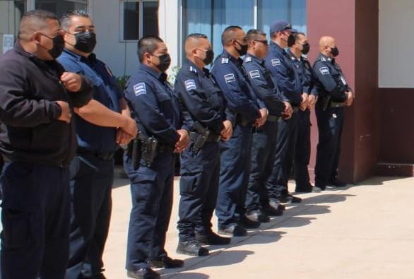 Homologan sueldos a policías de San Quintín