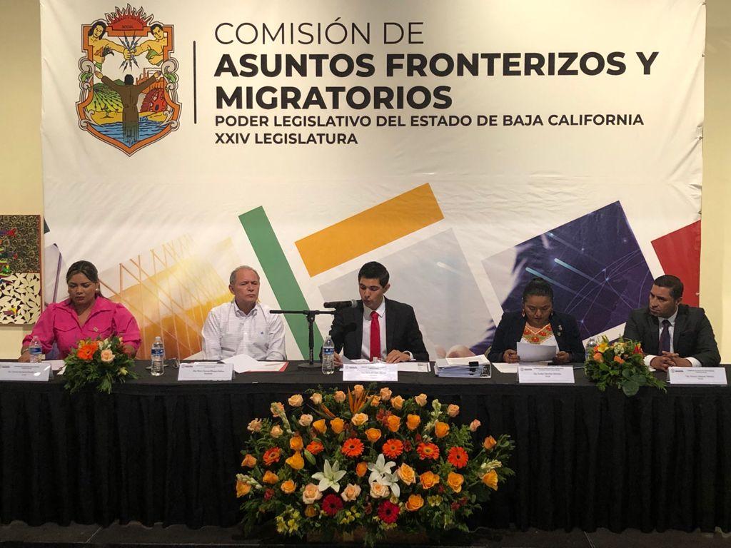 INSTALA XXIV LEGISLATURA DEL CONGRESO DE BC, COMISIÓN DE ASUNTOS FRONTERIZOS Y MIGRATORIOS