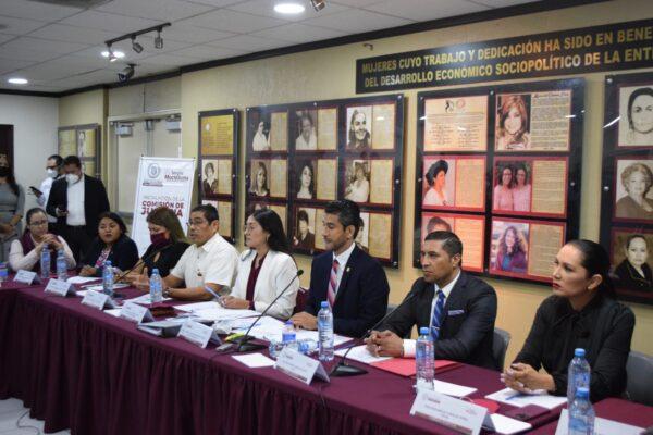 Instalan formalmente Comisión de Justicia de la XXIV Legislatura de Baja California