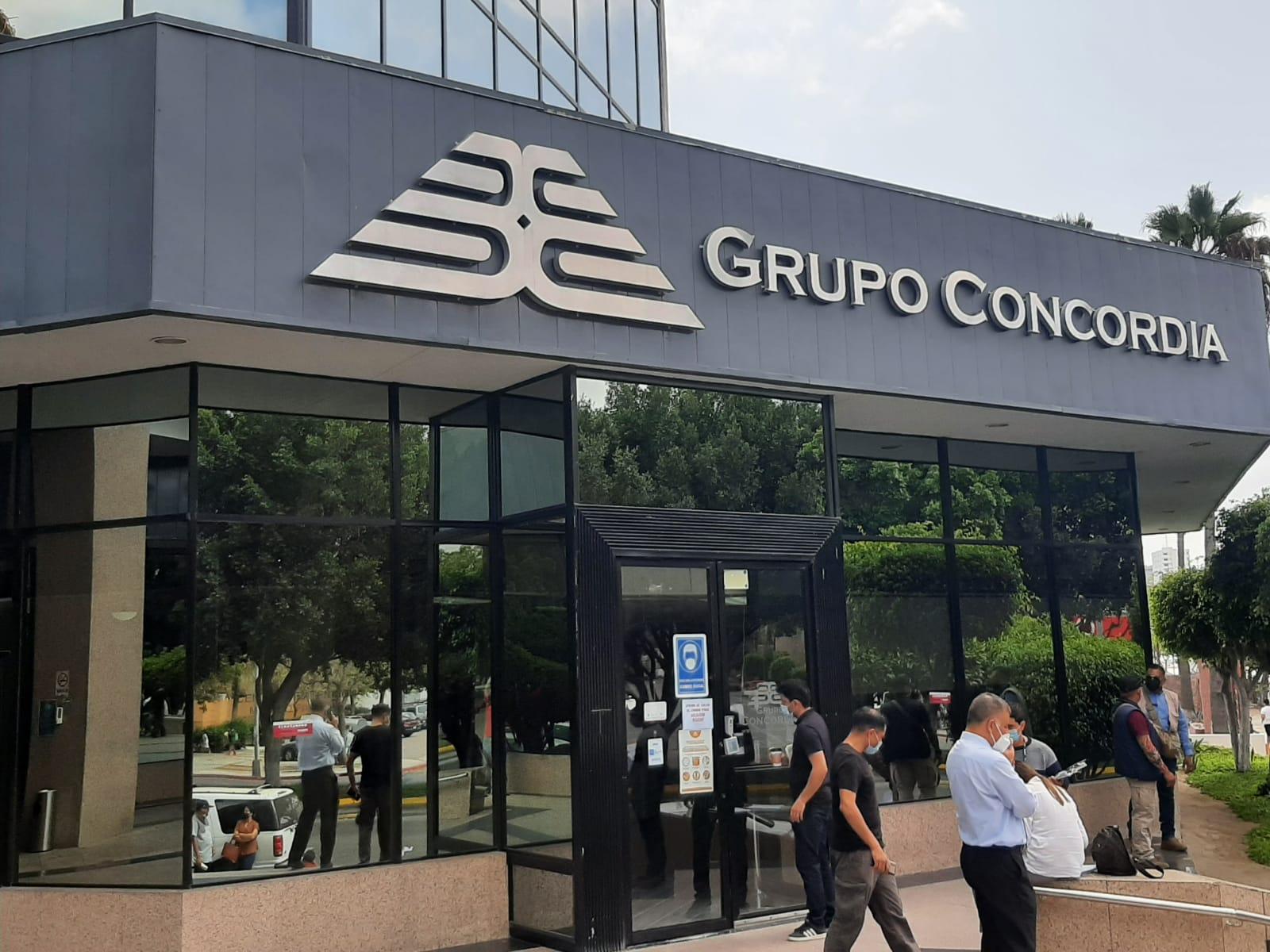 Clausura Cespt oficinas de Grupo Concordia