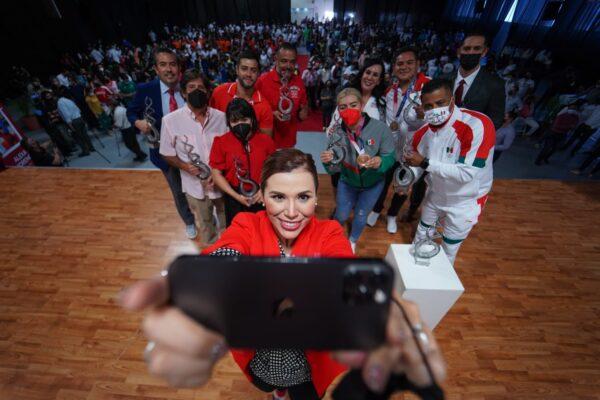 Dialogan Marina del Pilar y deportistas olímpicos con miras al futuro