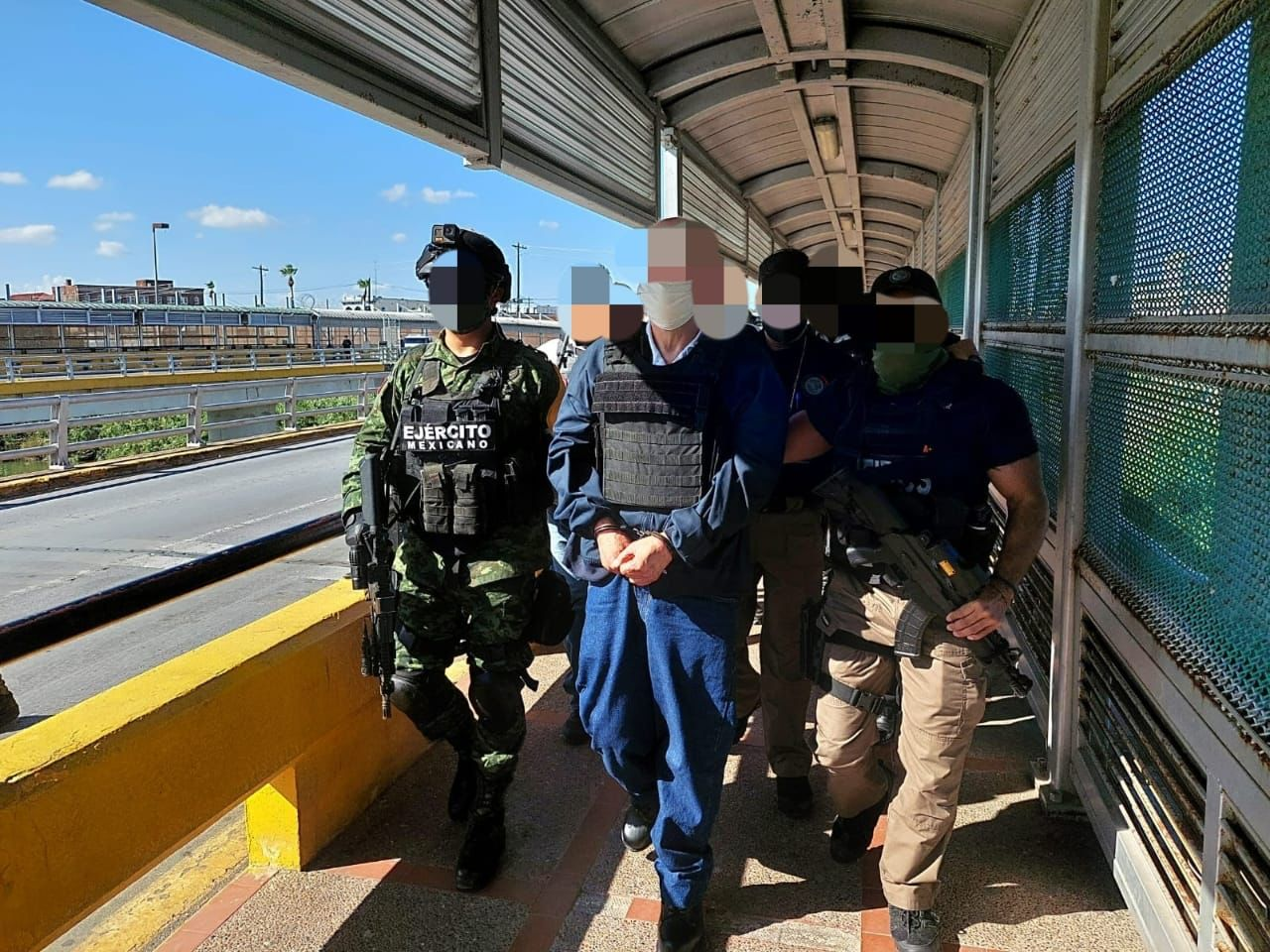 """EU deporta a Eduardo Arellano """"el Doctor"""" y lo detienen en la garita de Matamoros"""