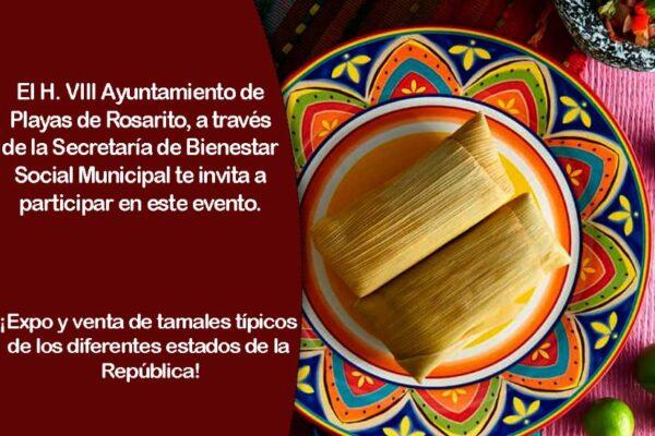 """Invitan a la """"Feria del Tamal"""" este viernes 27 de agosto en Rosarito"""