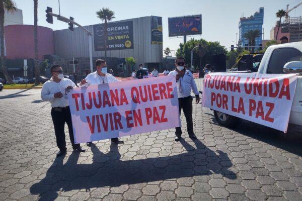 Tijuana quiere vivir en paz: Aboytes Hernández