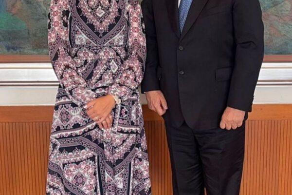 Sostiene Marina del Pilar reuniones estratégicas con gabinete presidencial
