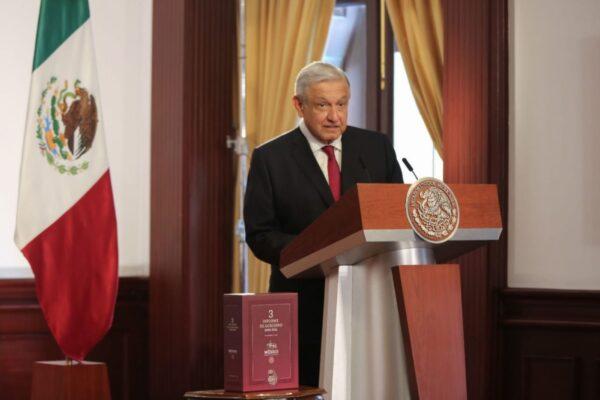 Presenta AMLO Tercer Informe de Gobierno