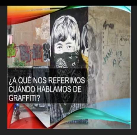 Dedican coloquio al grafiti