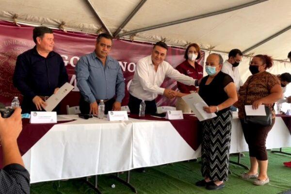 Reciben Primeros Títulos Agrarios Pobladores de San Quintín Tras su Reciente Creación Como 6to. Municipio de BC