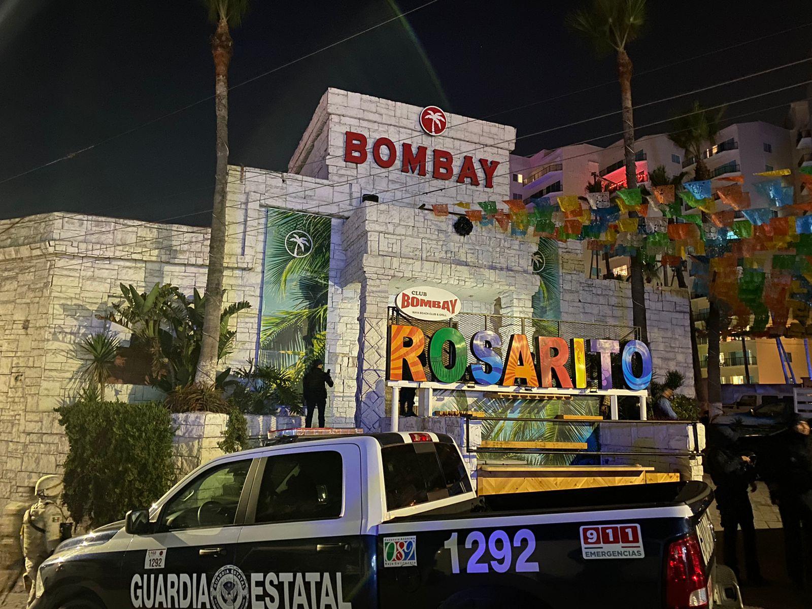 Operativo en bares de Rosarito fue por denuncias de extorsión y violencia
