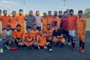 Alumbrado Público es campeón del Torneo de Fútbol Burócratas