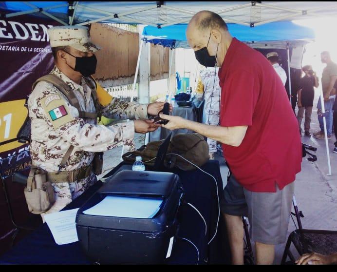 El Ejército Mexicano inicia la Campaña de Canje de Armas en Baja California